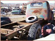1949 GMC Series 300 1 1/2 Ton Truck No Bed For Sale right rear view