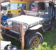 1946 Willys Jeep CJ-2A 4X4 Universal Utility Vehicle For Sale left front view
