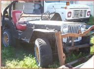 1946 Willys Jeep CJ-2A 4X4 Universal Utility Vehicle For Sale right front view