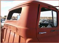 1956 GMC 350 LCF Low-Cab-Forward Tractor Truck For Sale $4,000 right rear cab view