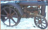 1920-28 Fordson Model F On Steel Farm Tractor For Sale right side view