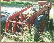 1939 IHC International Farmall Model M Reversed Tractor Loader For Sale left front view