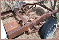 1958 Studebaker Transtar Deluxe Cab V-8 1/2 Ton Pickup Truck For Sale $3,500 left front rear chassis view