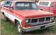 1974 GMC Sierra Grande G1500 1/2 Ton Pickup Truck For Sale $2,800 right front view