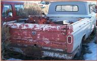 1961 GMC Series 1000 1/2 Ton Wideside Pickup For Sale $3,500 right rear view