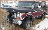 1978 Ford Bronco Ranger XLT 4X4 Sport Utility Vehicle SUV For Sale $3,500 left front view