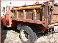 1948 FWD Model 127015 5 Window Country Snow Plow Dump Truck For Sale $3,500 left rear view