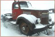 1948 IHC International KB-8 Semi Tractor For Sale $3,000 right front view