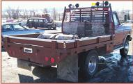 1976 Ford F-250 Ranger 4X4 Flatbed Work Truck For Sale right rear view