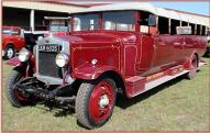 1926 Leyland Lioness Chara-Banc Single Deck Right Drive Commercial Convertible Coach For Sale left front view