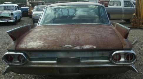 1961 Cadillac Series 62 Six Window 4 Door Hardtop For Sale