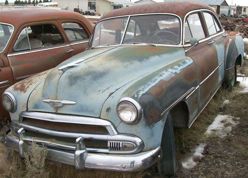 1951 Chevrolet Styleline Deluxe 4 Door Sedan For Sale