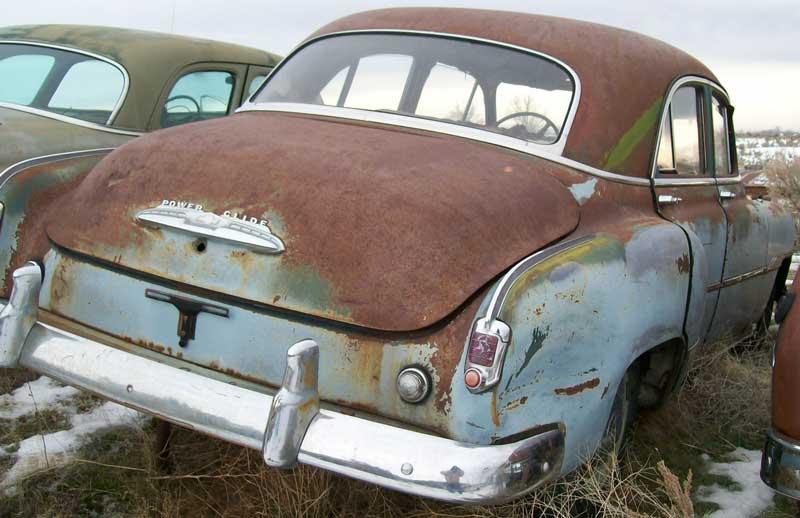 1951 Chevrolet Styleline Deluxe 4 Door Sedan For Sale