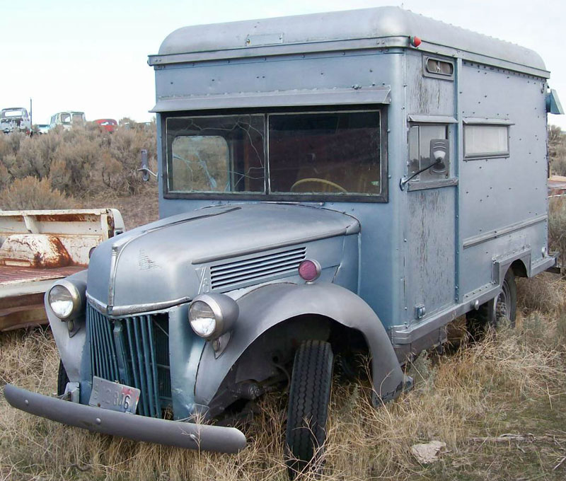1941 Ford Series 1gd 3 4 Ton Express Box Truck Camper Van