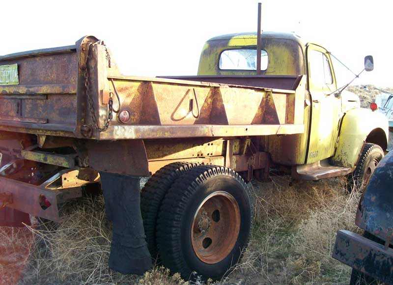 1950 Ford F 5 Coleman Four Wheel Drive Dump Truck For Sale