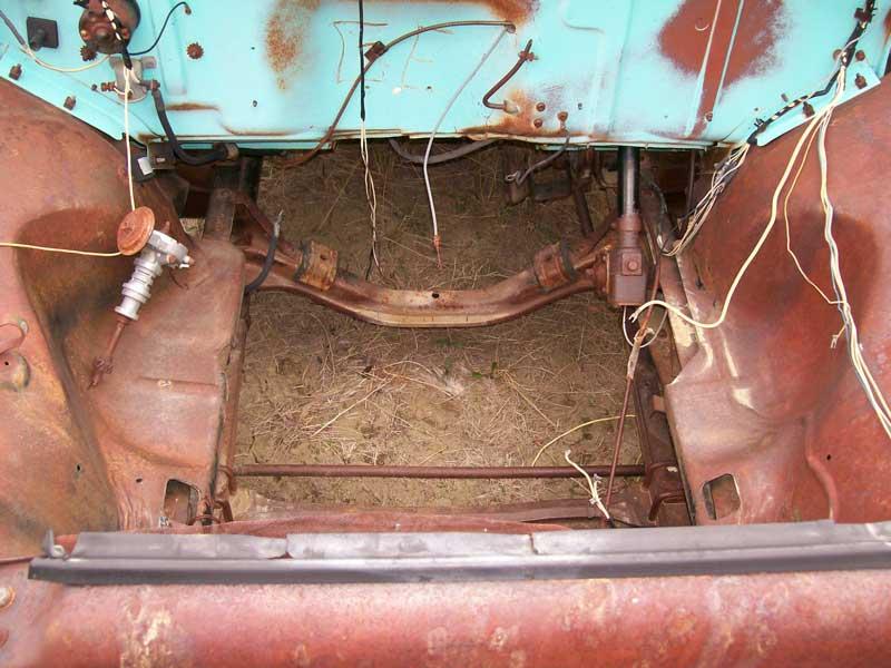 1955 Ford F 100 Custom Cab 1 2 Ton Stepside Pickup Truck