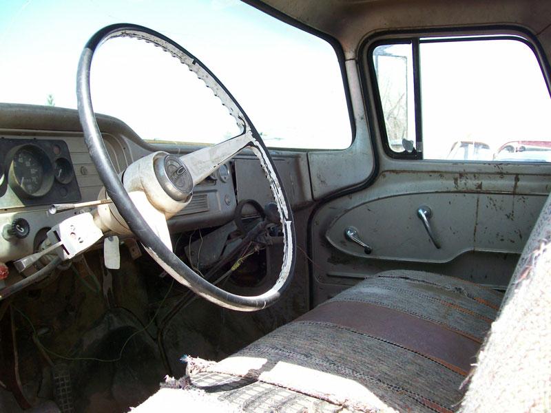 1962 gmc series 4000 2 ton truck for sale 3 500 left interior cab