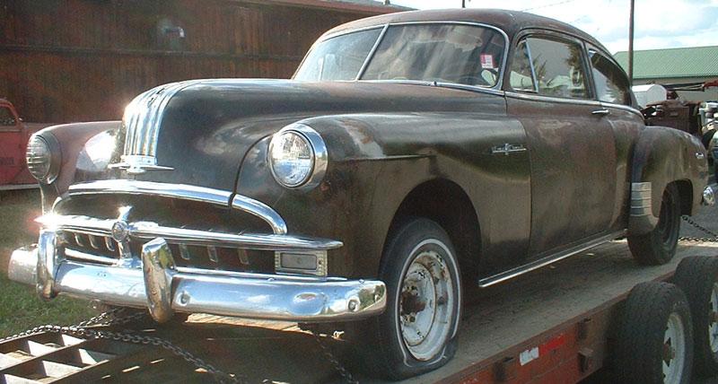 1949 Pontiac Streamliner Eight 2 Door Fastback Coupe For Sale