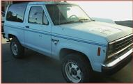 1986 Ford Bronco II XLT 4X4 Sport Utility Vehicle New For Sale $6,000 right front view