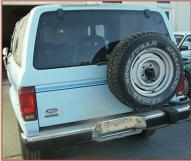 1986 Ford Bronco II XLT 4X4 Sport Utility Vehicle New For Sale $6,000 left rear view
