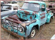 1955 Ford F-100 Custom Cab 1/2 Ton Stepside Pickup Truck For Sale $2,000 left front view