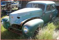 1941 Hudson Commodore Six 4 Door Sedan For Sale $3,500 left front view