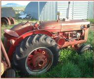 1950 IHC International McCormick-Deering Super W-6 Farm Tractor For Sale $3,500 right rear side view