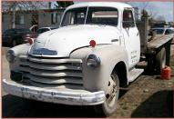 1949 Chevrolet Loadmaster 2 Ton Flatbed Truck For Sale $3,500 left front view