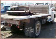 1949 Chevrolet Loadmaster 2 Ton Flatbed Truck For Sale $3,500 right rear view