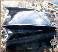 1959 Cadillac Series 62 4 Door Six Window Hardtop For Sale $3,500 right rear fins view