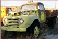 1950 Ford F-5 Coleman Four Wheel Drive Dump Truck For Sale $4,500 left front view