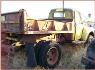 1950 Ford F-5 Coleman Four Wheel Drive Dump Truck For Sale $4,500 right rear view