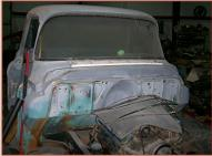 1955 GMC Suburban 2nd Series Model 101-8 1/2 Ton Pickup Truck For Sale $9,500 right front view