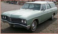 1967 Buick Skylark Sportwagon 9 Passenger Glass Top Station Wagon For Sale $6,500 left front view