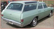 1967 Buick Skylark Sportwagon 9 Passenger Glass Top Station Wagon For Sale $6,500 right rear view