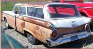 1959 Ford Ranch Wagon 4 Door Station Wagon V-8 Series For Sale $1,900 left rear view