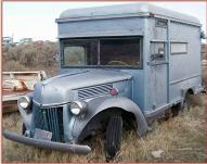 1941 Ford Series 1GD 3/4 Ton Express Box Truck Camper Van Conversion For Sale $4,500 left front view