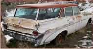 1959 Pontiac Catalina Safari 9 Passenger Station Wagon For Sale $5,500 right rear view