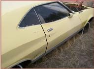 1972 Ford Gran Torino Sport 2 Door Fastback Hardtop For Sale $5,500 left rearside view
