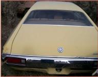 1972 Ford Gran Torino Sport 2 Door Fastback Hardtop For Sale $5,500 rear view