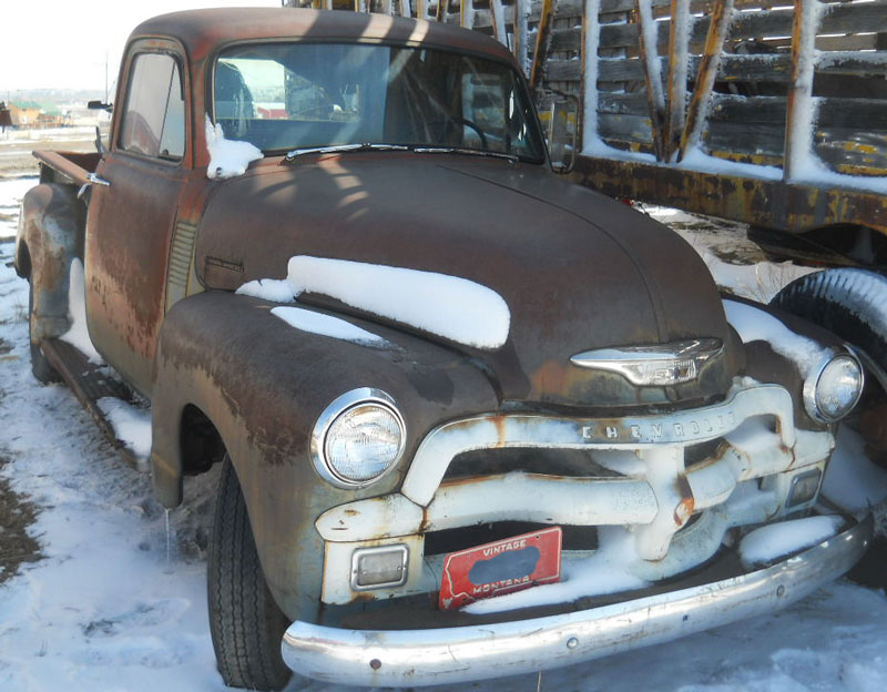 Restored, Original and Restorable Chevrolet Trucks For Sale 1946-55