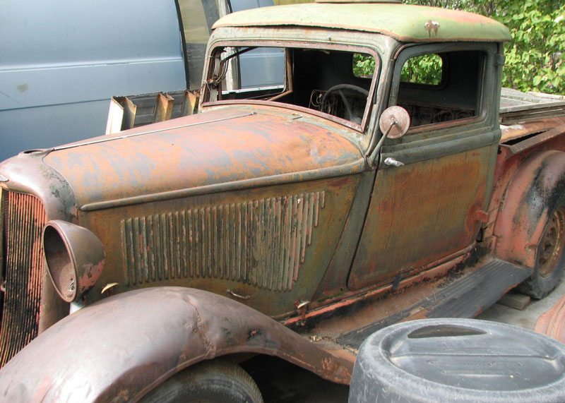 1935 Dodge Model KC 1/2 ton long hood pickup truck for sale $15,000