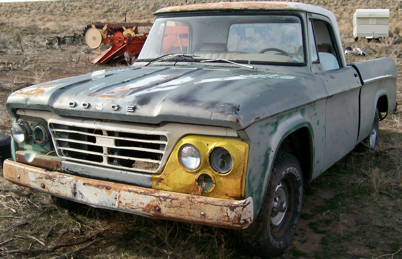 1963 Dodge D100 Sweptline 1/2 ton pickup truck #2 for sale $3,500
