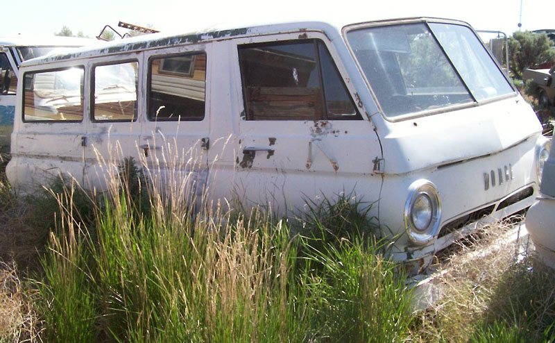 Dodge, 1965 A100 Sportsman window van $3,500