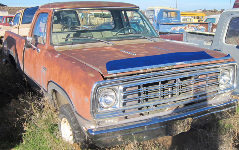 Restored, All Original and Restorable Dodge Project Trucks