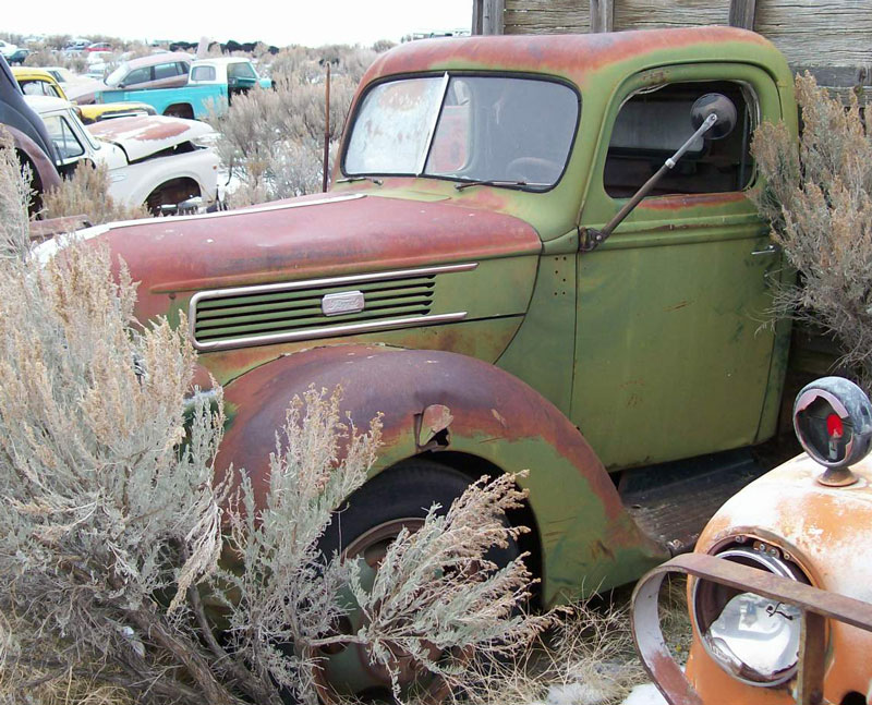 Restored, All Original & Restorable Ford Project Trucks ...