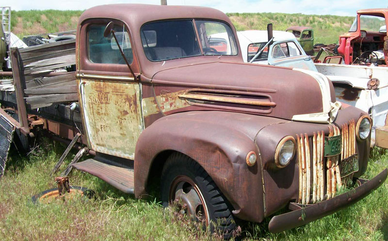 Restored original and restorable ford trucks for sale 1943 55