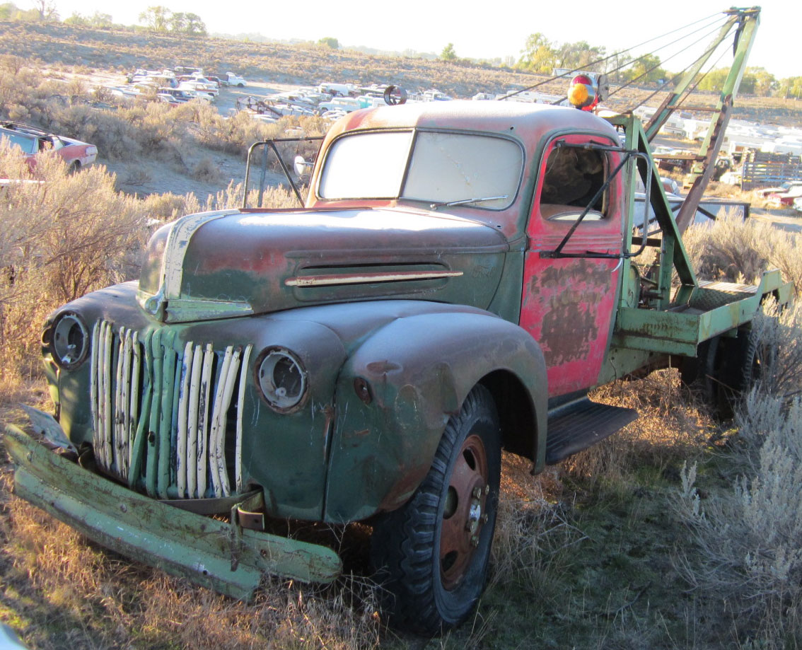 Restored Original And Restorable Ford Trucks For Sale 1943 55 1955 F100 Long Bed 1946 2 Ton Wrecker Tow Truck 4500