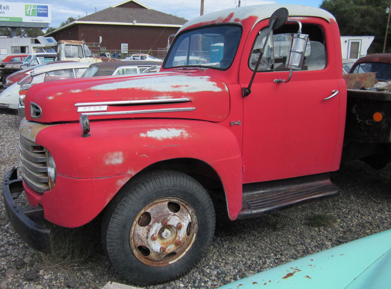 Restored, Original and Restorable Ford Trucks For Sale 1943-55