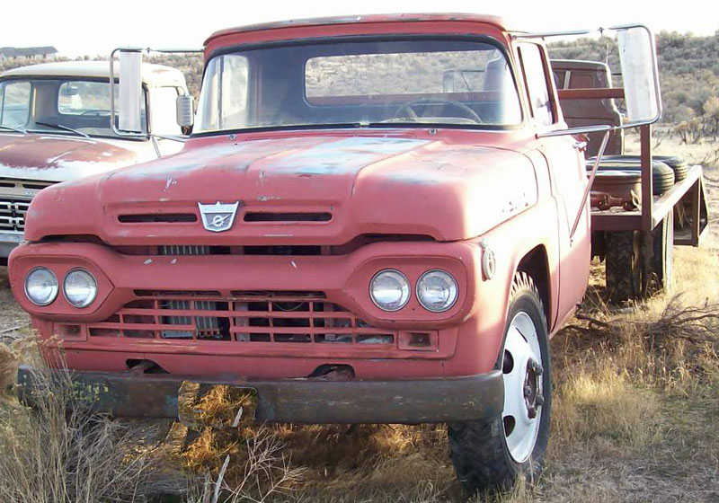 Restored original and restorable ford trucks for sale 1956 1996